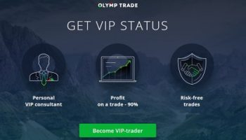 VIP account on Olymp Trade